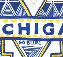 University of Michigan Drawing Sticker