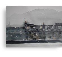 Edinburgh Snow 1 Metal Print