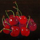 Ripe Cherries by Gary Stamp