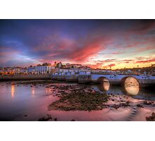 Tavira Twilight Photographic Print
