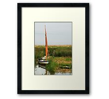 Backwater Framed Print