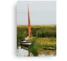 Backwater Canvas Print
