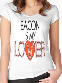 Bacon Babies Women's Fitted Scoop T-Shirt