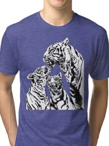 tiger and cubs Tri-blend T-Shirt