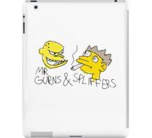 Mr Gurns and Spliffers iPad Case/Skin