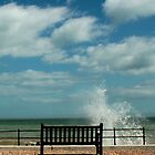 Kingsdown - Bench &amp; Waves 1 by rsangsterkelly