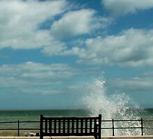 Kingsdown - Bench & Waves 1 by rsangsterkelly