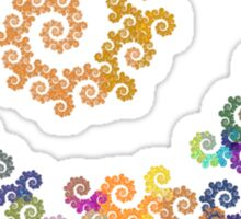 Spiral Obsession Sticker