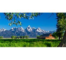 Jackson Hole Moulton Barn Photographic Print