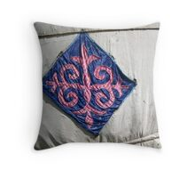 Tent Quilting Throw Pillow
