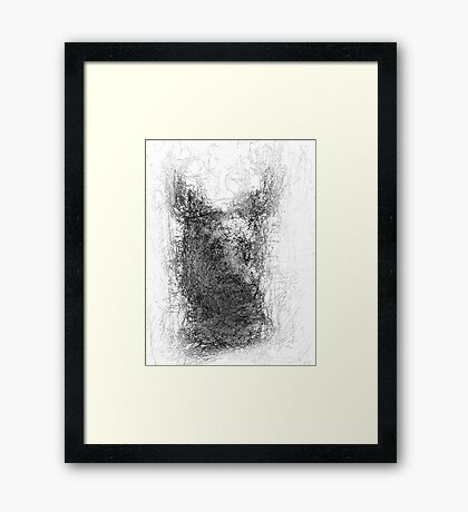 creatures of the wild Framed Print