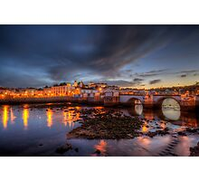 Tavira At Night Photographic Print