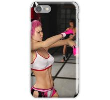 Punched - Female Boxer iPhone Case/Skin