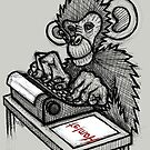 Monkey Writes Hamlet by Brett Gilbert