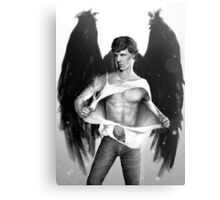 Sexy Benedict Cumberbatch / Winged Sherlock V4 Canvas Print