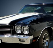 1970 Chevrolet Chevelle SS [on blue] Sticker