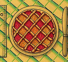 Measuring Squares Grid Tart by argart