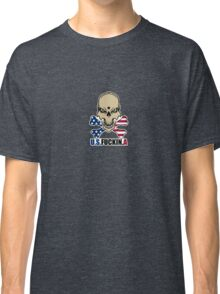 Stars and Stripes with attitude Classic T-Shirt