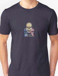 Stars and Stripes with attitude Unisex T-Shirt