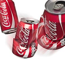 Coke Can by Mick Frank