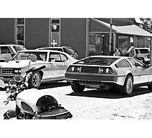 AMC Delorean/GTO JUDGE/Triumph Bonneville all in 1 - Liepers Fork, TN  Photographic Print