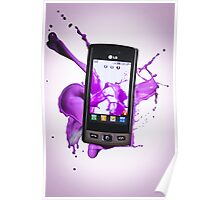 LG Mobile Phone Poster