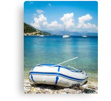 Mediterranean Blues Canvas Print