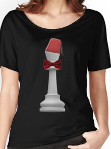 Doctor Who King of Chess for Darks Women's Relaxed Fit T-Shirt