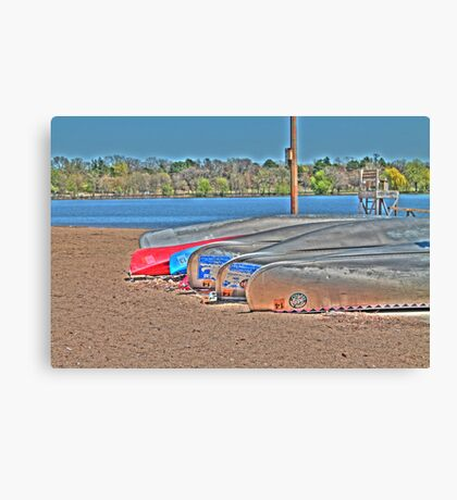 Waiting to Launch Canvas Print
