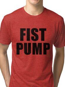 Fist Pump The Regular Show Tri-blend T-Shirt