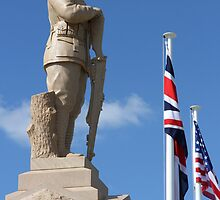 Cenotaph, Southport, QLD by aussiebushstick