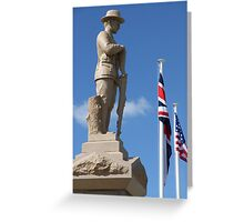 Cenotaph, Southport, QLD Greeting Card