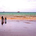 Three - The sea - Puerto Madryn Argentina by Denis Marsili