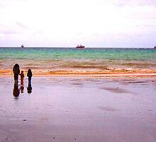 Three - The sea - Puerto Madryn Argentina by Denis Marsili - DDTK