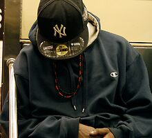 SUBWAY 1143/  The N. Y. Cap... by Mart Delvalle