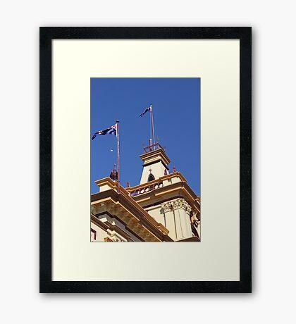 The Old Town Hall, Glen Innes, NSW Framed Print
