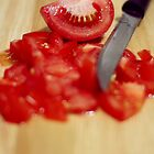 Chopped Tomato by AHakir