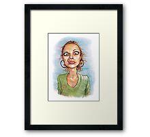 B. Framed Print