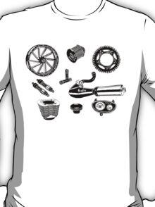 Parts & Accessories Illustration T-Shirt