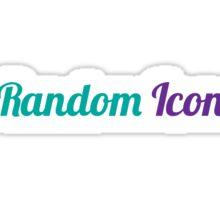 Random Icon Grapes Sticker