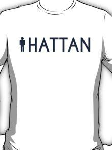 Man hattan Tee - Yankee Blue Lettering T-Shirt