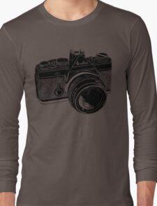 Camera Illustration Long Sleeve T-Shirt
