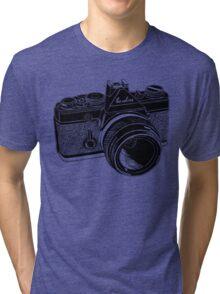 Camera Illustration Tri-blend T-Shirt