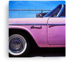 Pink Coronet Canvas Print
