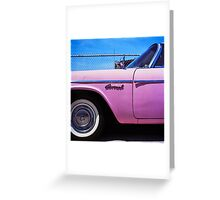 Pink Coronet Greeting Card