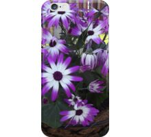 Purple and White Flowers iPhone Case/Skin