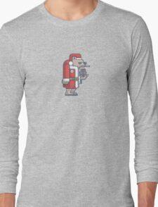 Grumpy Christmas Bear Long Sleeve T-Shirt