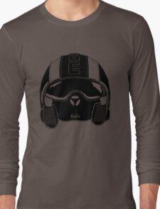 Momo Helmet Illustration Long Sleeve T-Shirt