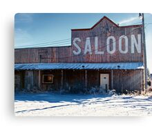 Saloon Canvas Print
