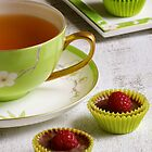 Rooibos Tea with Chocolate Treats by Kathy Reid